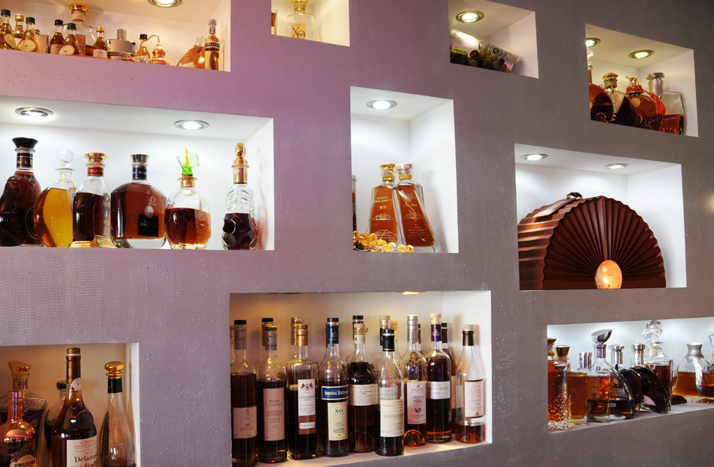 Collection de cognacs